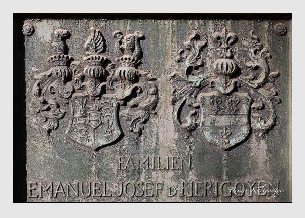 Grab der Familien Herigoyen & Reck auf dem Alten Südfriedhof München (November 2011)