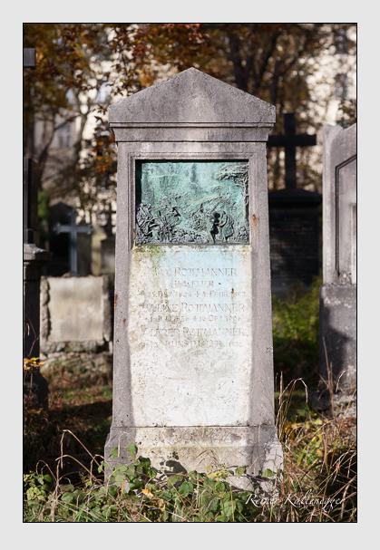 Grab der Familie Rottmanner auf dem Alten Südfriedhof München (November 2011)