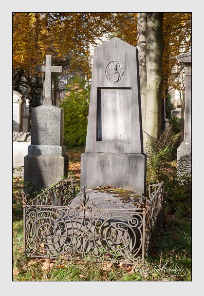 Grab der Familie Schanzenbach auf dem Alten Südfriedhof München (November 2011)