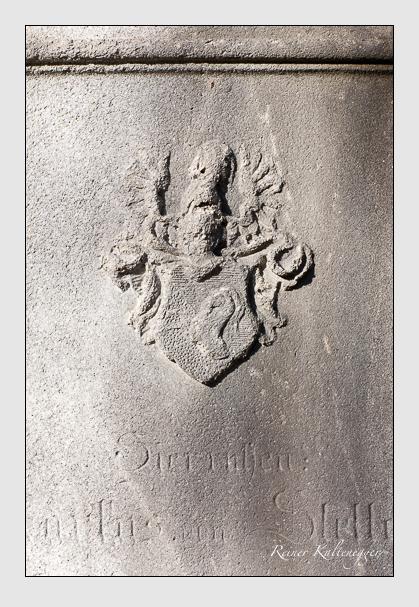 Grab der Familie Stetten auf dem Alten Südfriedhof München (November 2011)