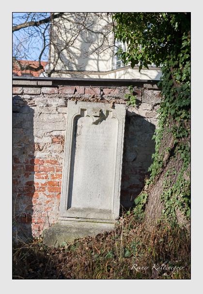 Grab der Familie Pacher auf dem Alten Südfriedhof München (November 2011)