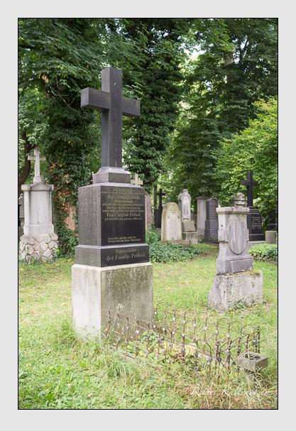 Grab der Familie Pröbstl auf dem Alten Südfriedhof München (August 2012)