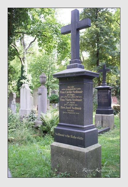 Grab der Familie Sedlmair auf dem Alten Südfriedhof München (August 2012)