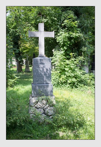 Grab der Familien Behrens & Werner & Zierlein auf dem Alten Südfriedhof München (August 2012)