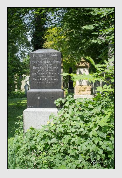 Grab der Familien Rebholz & Schliessleder auf dem Alten Südfriedhof München (August 2012)