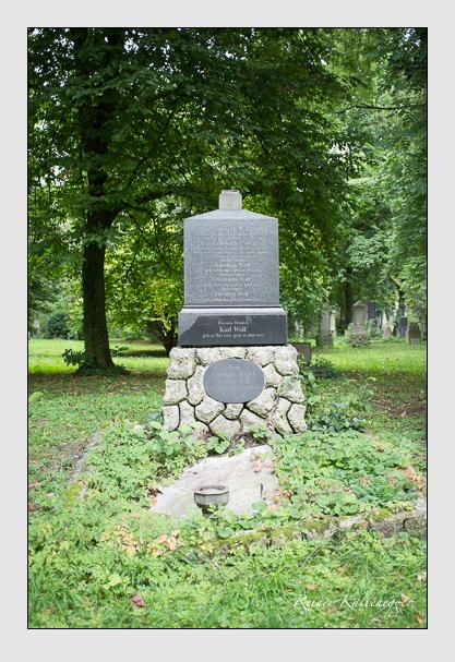 Grab der Familie Wolf auf dem Alten Südfriedhof München (August 2012)