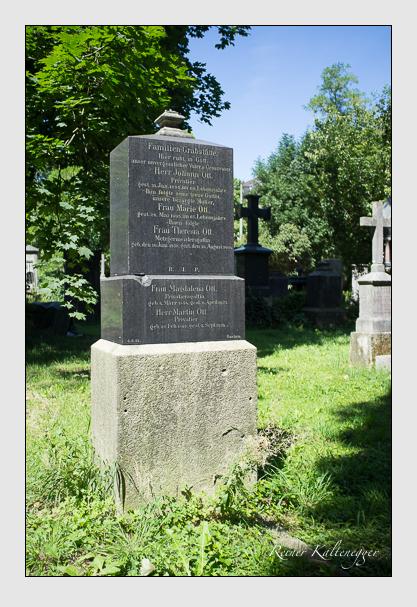 Grab der Familie Ott auf dem Alten Südfriedhof München (August 2012)