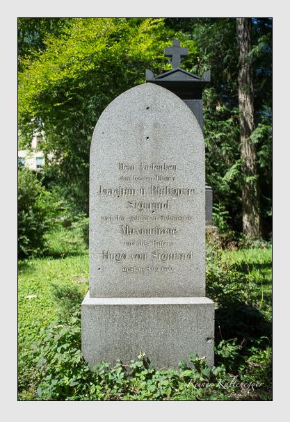 Grab der Familie Sigmund auf dem Alten Südfriedhof München (August 2012)