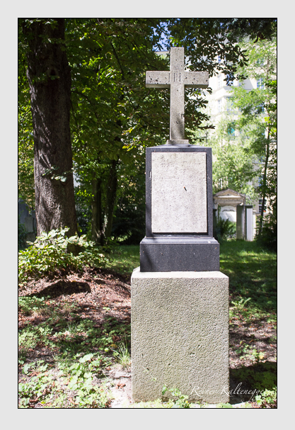 Grab der Familie Winter auf dem Alten Südfriedhof München (August 2012)