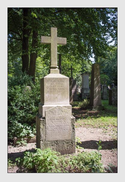 Grab der Familie Klein auf dem Alten Südfriedhof München (August 2012)