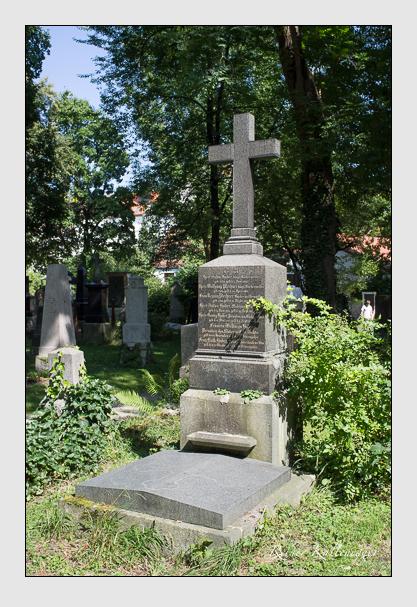 Grab der Familien Huber & Plechner auf dem Alten Südfriedhof München (August 2012)