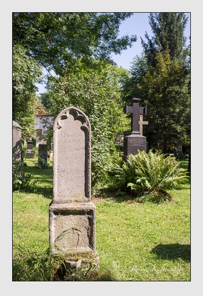 Grab der Familie Fuchs auf dem Alten Südfriedhof München (August 2012)