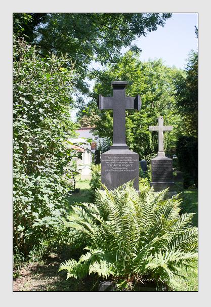 Grab der Familie Wagner auf dem Alten Südfriedhof München (August 2012)