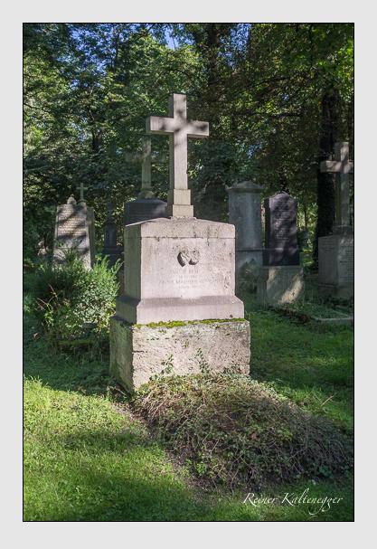 Grab der Familie Maurer auf dem Alten Südfriedhof München (September 2012)