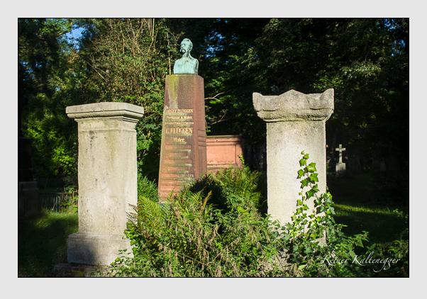 Grab der Familien Flüggen & Sonntag auf dem Alten Südfriedhof München (September 2012)