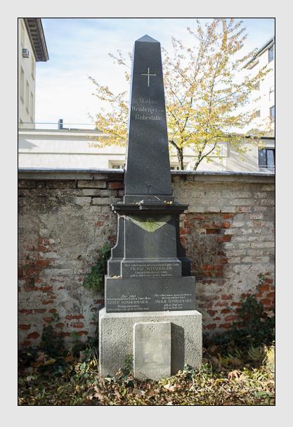 Grab der Familien Ney · Sondermaier · Weinberger auf dem Alten Südfriedhof München (November 2012)