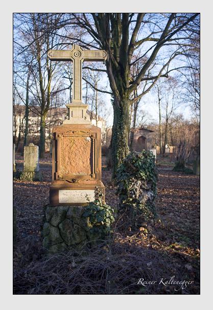 Grab der Familie Glogger auf dem Alten Südfriedhof München (Dezember 2012)