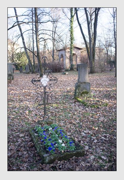 Grab der Familie Kronenbitter auf dem Alten Südfriedhof München (Dezember 2012)