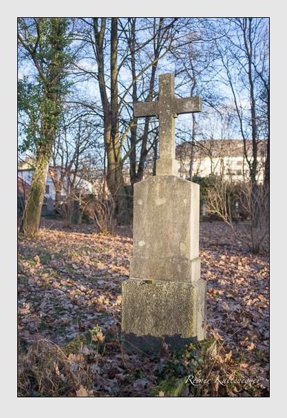 Grab der Familie Gerum auf dem Alten Südfriedhof München (Dezember 2012)