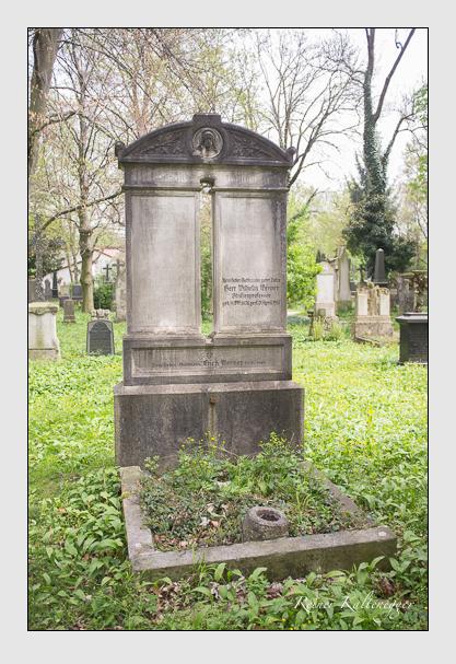 Grab der Familie Werner auf dem Alten Südfriedhof München (Mai 2013)