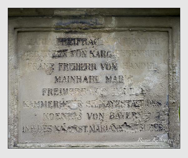 Grab der Familie Handel auf dem Alten Südfriedhof München (Mai 2013)