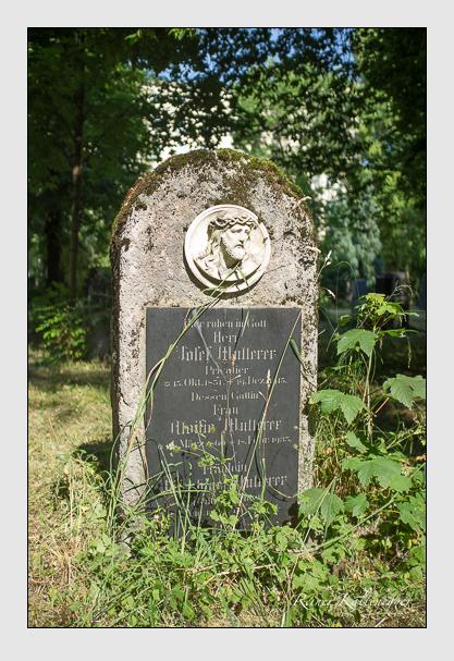 Grab der Familie Multerer auf dem Alten Südfriedhof München (Juli 2013)
