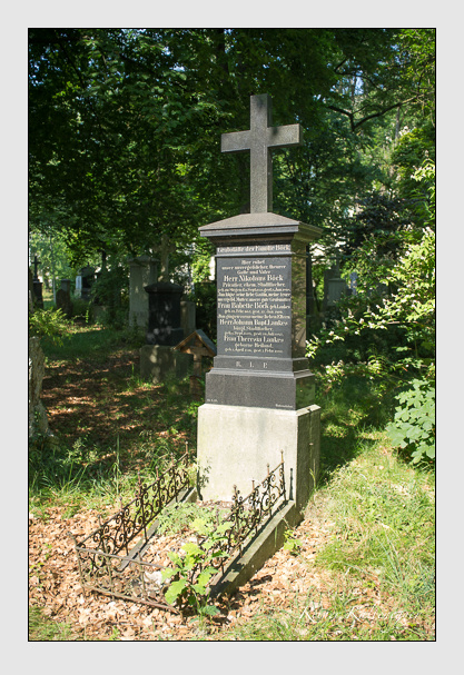 Grab der Familien Böck & Lankes auf dem Alten Südfriedhof München (Juli 2013)