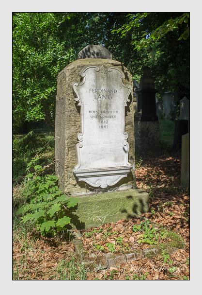 Grab der Familie Lang auf dem Alten Südfriedhof München (Juli 2013)