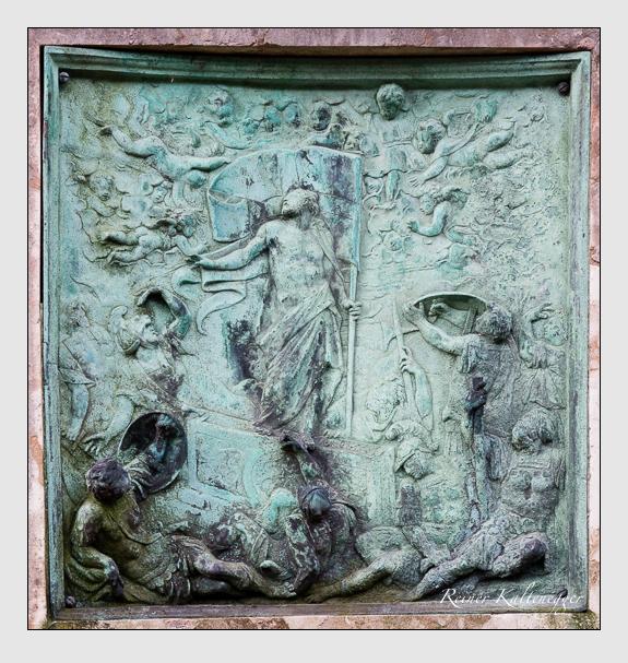 Grab der Familie Rockenstein auf dem Alten Südfriedhof München (Dezember 2013)