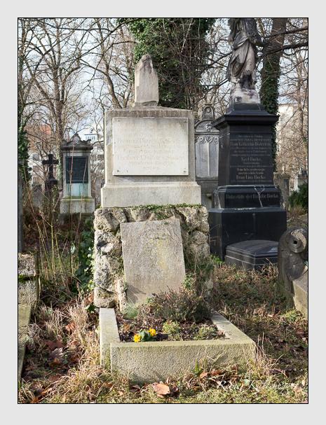 Grab der Familie Soden auf dem Alten Südfriedhof München (Januar 2014)