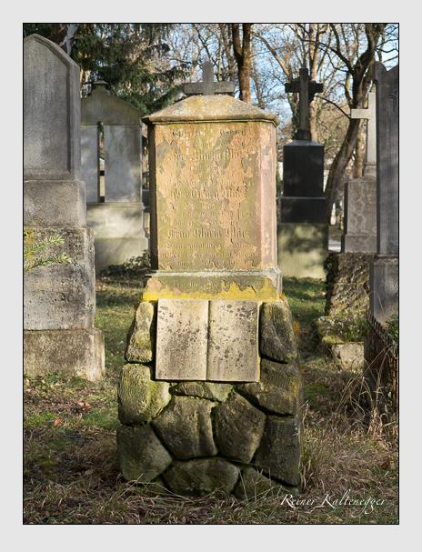 Grab der Familie März auf dem Alten Südfriedhof München (Februar 2014)