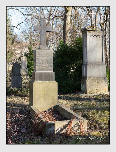 Grab der Familie Werner auf dem Alten Südfriedhof München (Februar 2014)
