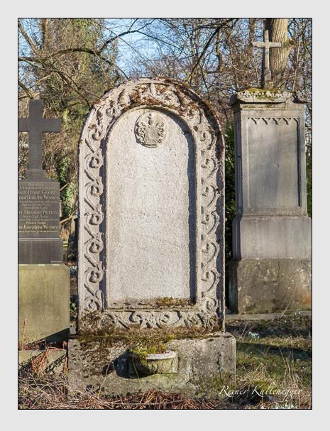 Grab der Familie Zuccarini auf dem Alten Südfriedhof München (Februar 2014)