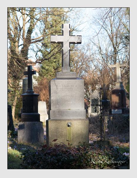 Grab der Familie Drexler auf dem Alten Südfriedhof München (Februar 2014)