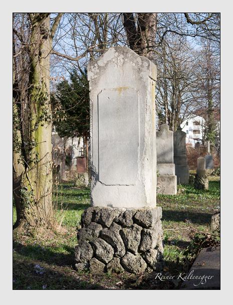 Grab der Familie Nagler auf dem Alten Südfriedhof München (März 2014)
