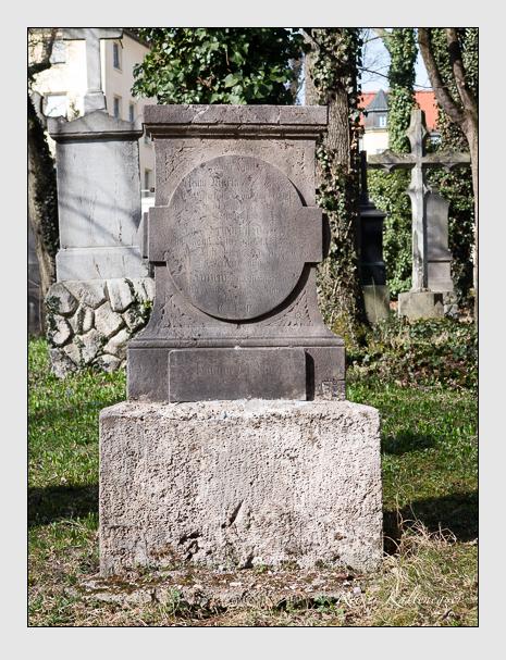 Grab der Familie del Moro auf dem Alten Südfriedhof München (März 2014)