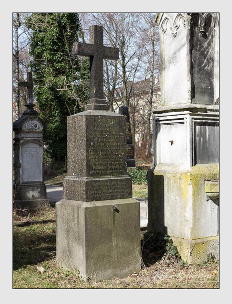 Grab der Familie Schäffer auf dem Alten Südfriedhof München (März 2014)