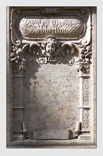 Grab der Familie Hebberling auf dem Alten Südfriedhof München (März 2014)