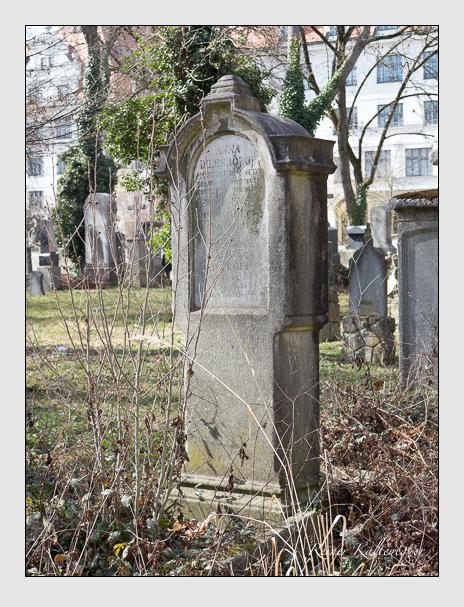 Grab der Familie Deissböck auf dem Alten Südfriedhof München (März 2014)