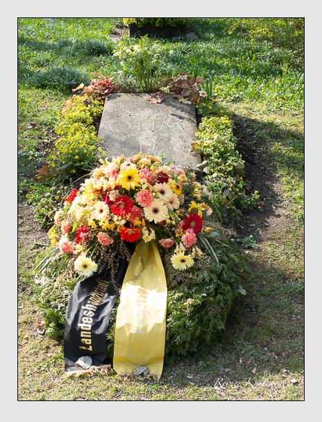 Grab der Familie Ohm auf dem Alten Südfriedhof München (März 2014)