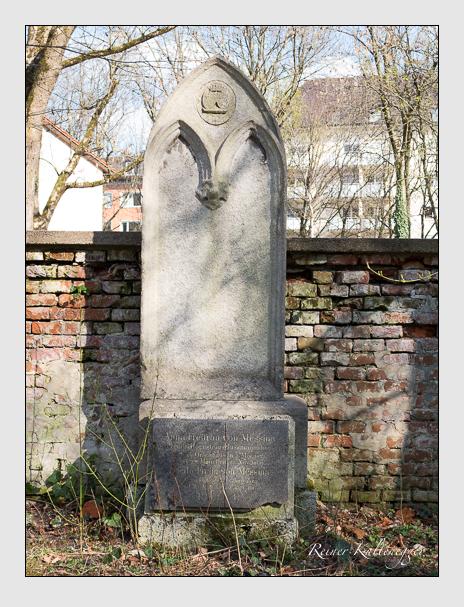 Grab der Familie Messina auf dem Alten Südfriedhof München (März 2014)