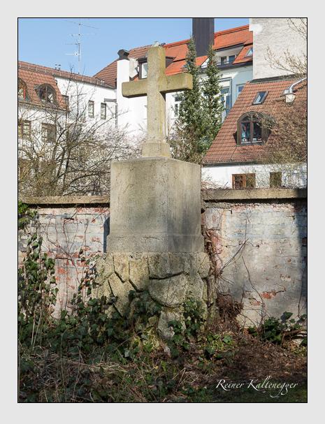 Grab der Familie Geiger auf dem Alten Südfriedhof München (März 2014)