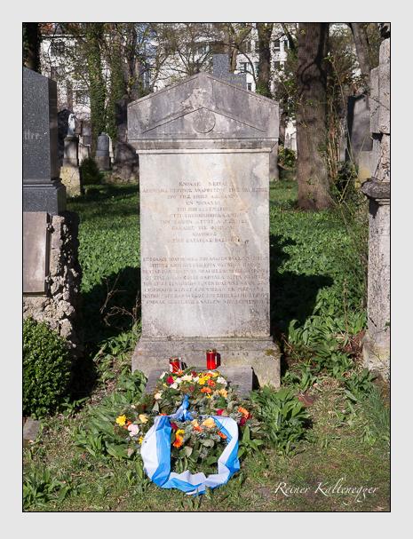 Grab der Familie Odysseus auf dem Alten Südfriedhof München (März 2014)