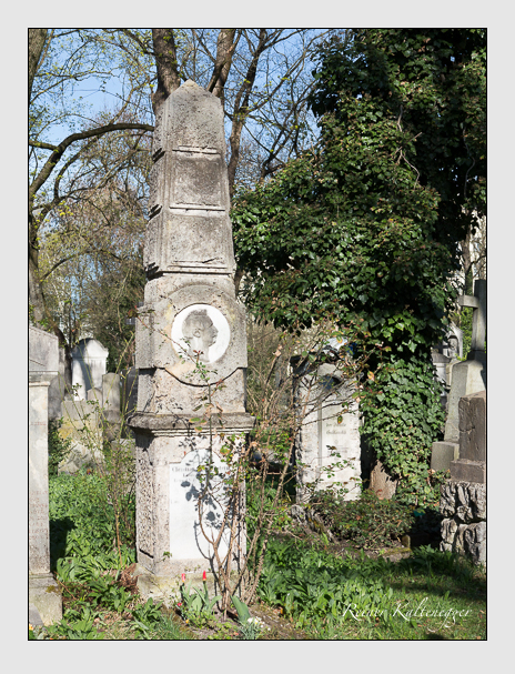 Grab der Familie Morgenstern auf dem Alten Südfriedhof München (März 2014)