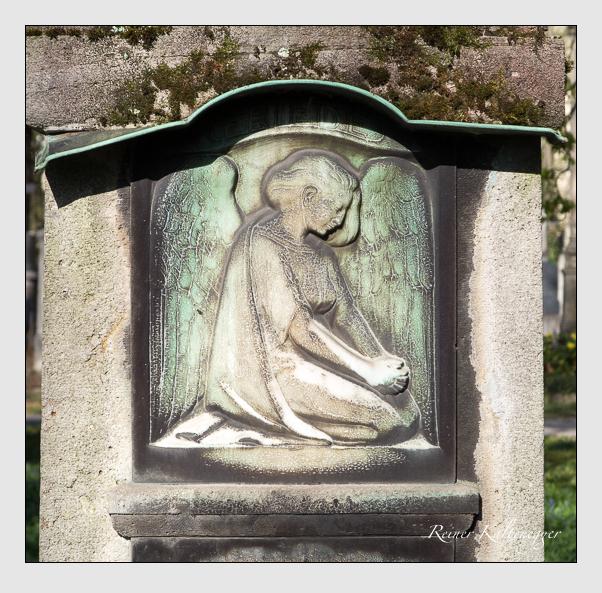 Grab der Familie Merkl auf dem Alten Südfriedhof München (März 2014)