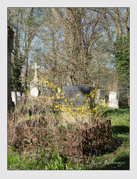 Grab der Familie Wolf auf dem Alten Südfriedhof München (März 2014)