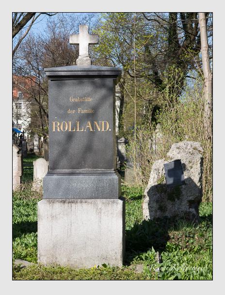 Grab der Familie Rolland auf dem Alten Südfriedhof München (März 2014)