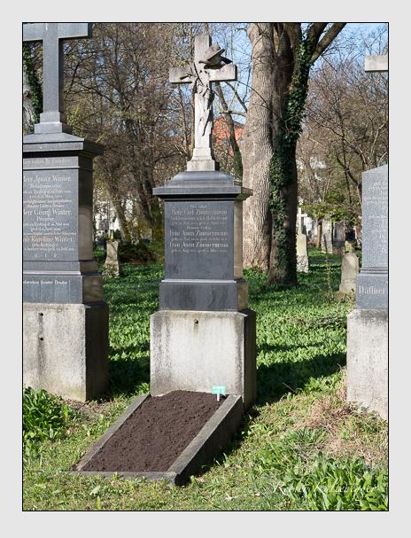 Grab der Familie Zimmermann auf dem Alten Südfriedhof München (März 2014)