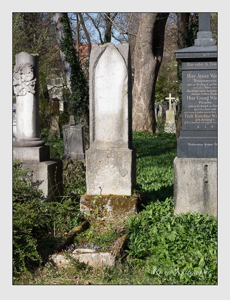 Grab der Familie Schrettinger auf dem Alten Südfriedhof München (März 2014)