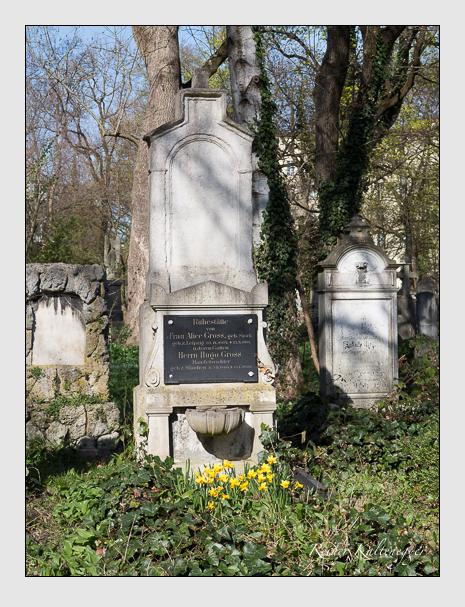 Grab der Familie Gross auf dem Alten Südfriedhof München (März 2014)